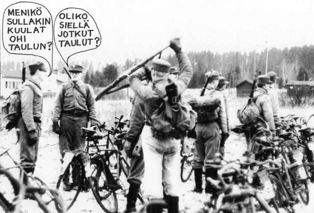 Taistelupari Aarniala-Helander ampumaharjoitusten jälkeen Korialla marraskuussa 1967