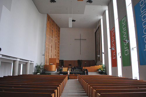 First_Christian_Church,_Interior_Detail