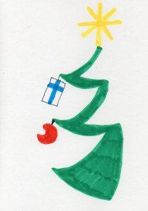 Joulukortti