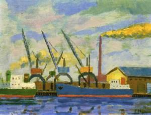 Laivojasatamassa1980