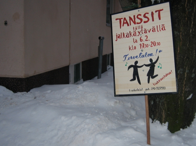 Tanssijuliste