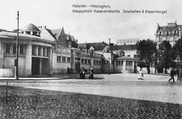 1900 -luvun alku . Kasarmitori. Kaartinhalli.