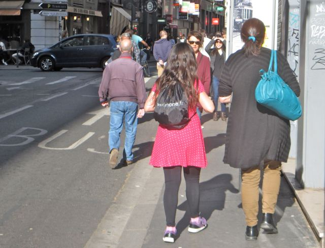 Pedestrians:Lyon