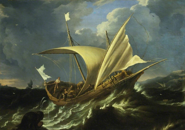 Tavella, Carlo Antonio; Jonah and the Whale; National Maritime Museum; http://www.artuk.org/artworks/jonah-and-the-whale-175740